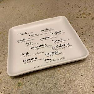 New Quotable Trinket Dish
